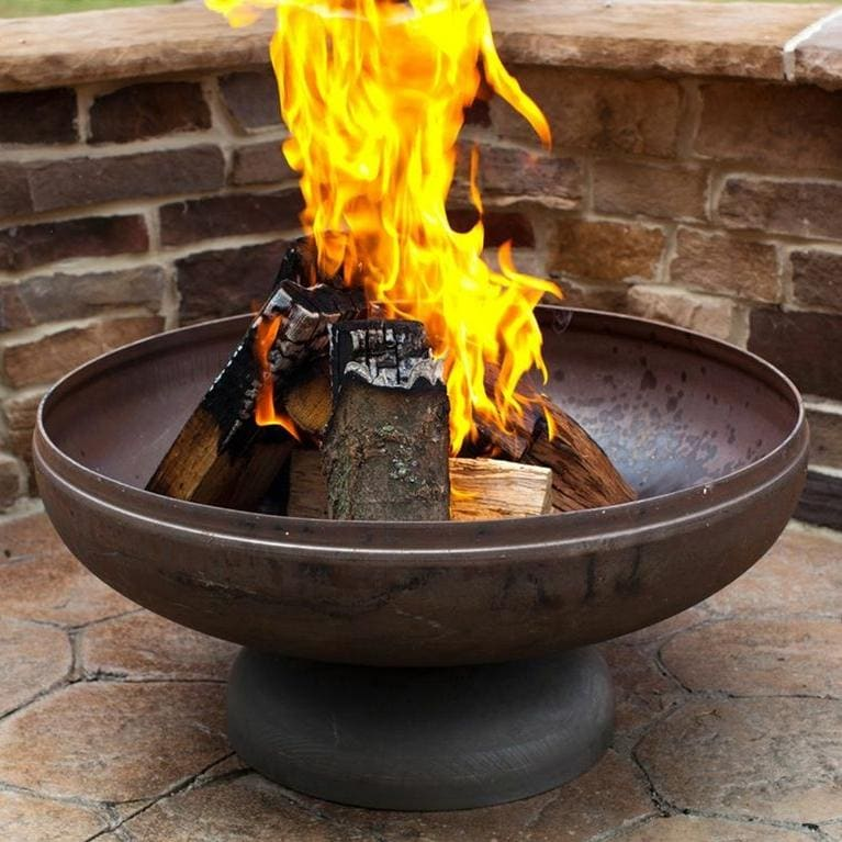 Ohio Flame Patriot 30-Inch Wood Burning Fire Pit : Ultimate Patio