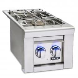 Viking Professional 5 Series Built-In Propane Gas Double Side Burner - VQGSB5130LSS image