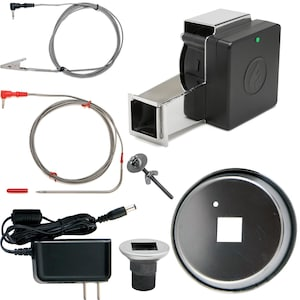 Flame Boss 400 WiFi Smoker Controller W/ Universal Adapter Kit - FB400-U image