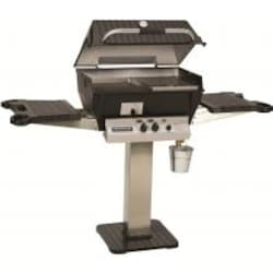 Broilmaster Q3X Qrave Propane Gas Grill On Stainless Steel Patio Post image