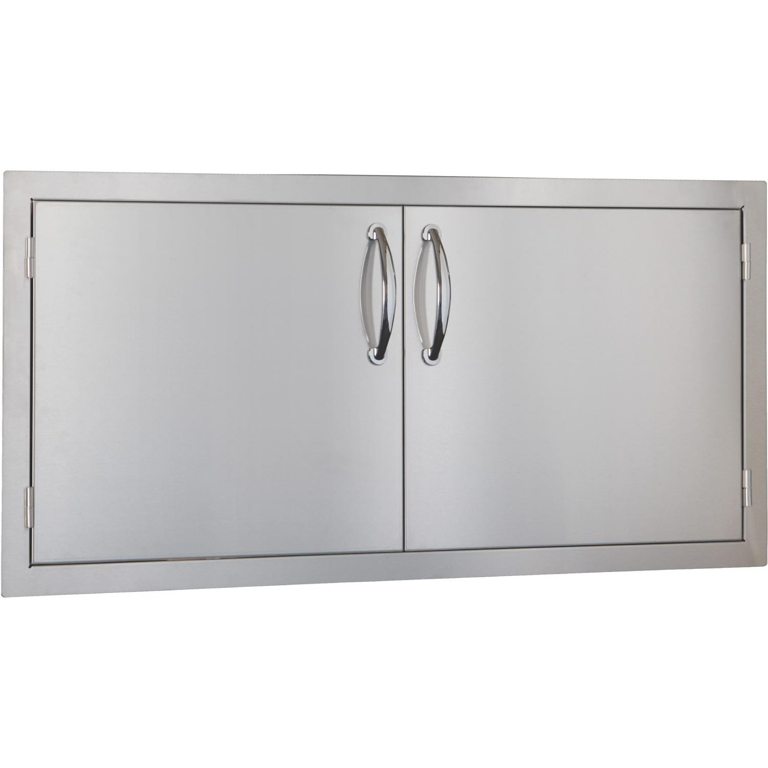 Summerset 42-Inch Stainless Steel Flush Mount Double Access Door - SSDD-42