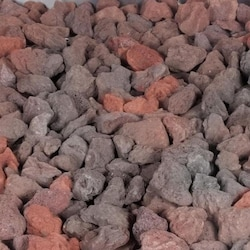 BBQGuys.com Red Lava Rock - 8 Lbs