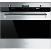 Smeg Classic 30-Inch Built-In Electric Single Wall Oven - Stainless - SOU330X