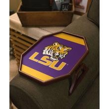 Evergreen Armchair Quarterback Team Snack Tray - LSU