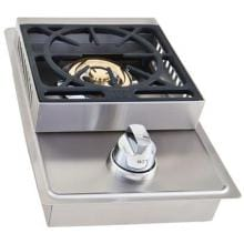 Lion Stainless Steel Drop In Propane Gas Single Side Burner Lion Stainless Steel Drop-In Propane Gas Single Side Burner