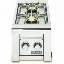 Lynx Professional Built-In Natural Gas Double Side Burner - LSB2-2-NG image
