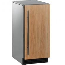 Scotsman Brilliance 65 Lb. 15-Inch Gourmet Ice Machine With Gravity Drain - Custom Panel / Stainless Cabinet - SCCG50MA1SU image