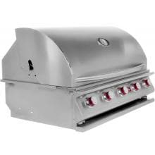 Cal Flame G5 40-Inch 5-Burner Built-In Propane Gas BBQ Grill - BBQ09G05 Side View