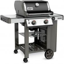 Weber Genesis II E-210 Freestanding Propane Gas Grill - Black Weber Genesis II E-210 Freestanding Propane Gas Grill - Left Angled View