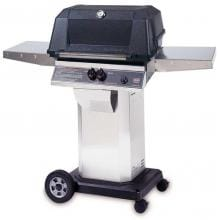 MHP Gas Grills WNK4DD Propane Gas Grill W/ SearMagic Grids On Stainless Cart