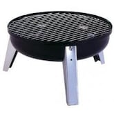 Meco Portable Tailgate Charcoal BBQ Grill - Black - 2000