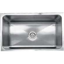 Blanco Magnum Large 31 X 18 18-Gauge Single Bowl Stainless Steel Undermount Sink - 440302