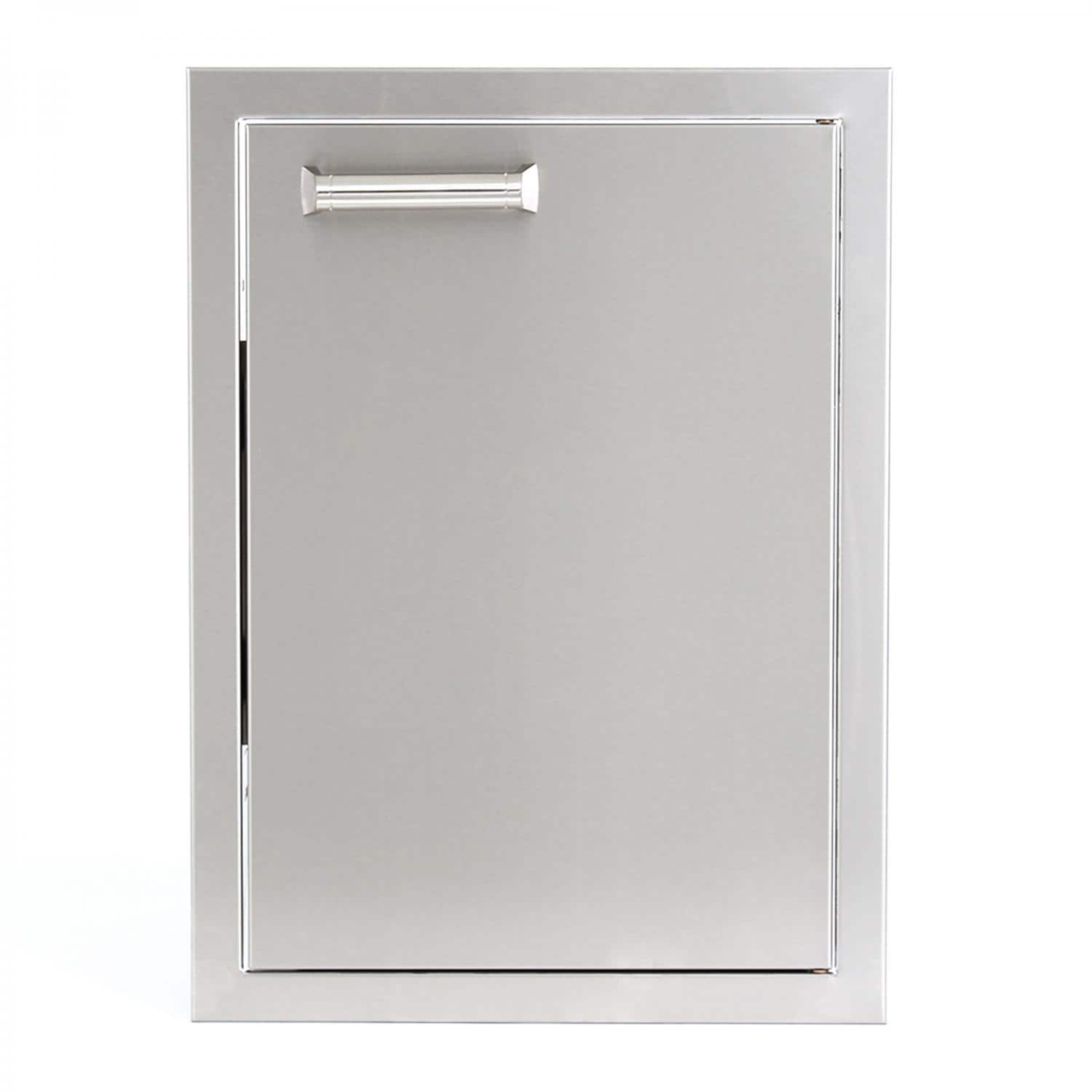 BBQGuys  Sonoma Series 14 inch Stainless Steel Right-Hinged Single Access Door - Vertical - BBQ-350H-14X20-V