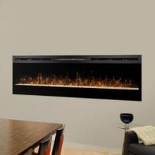 Dimplex Galveston 74-Inch Wall Mount Electric Fireplace - Glass Embers - BLF74 image