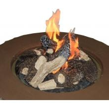 42 Inch Chat Propane Gas Fire Pit Table With Granite Top