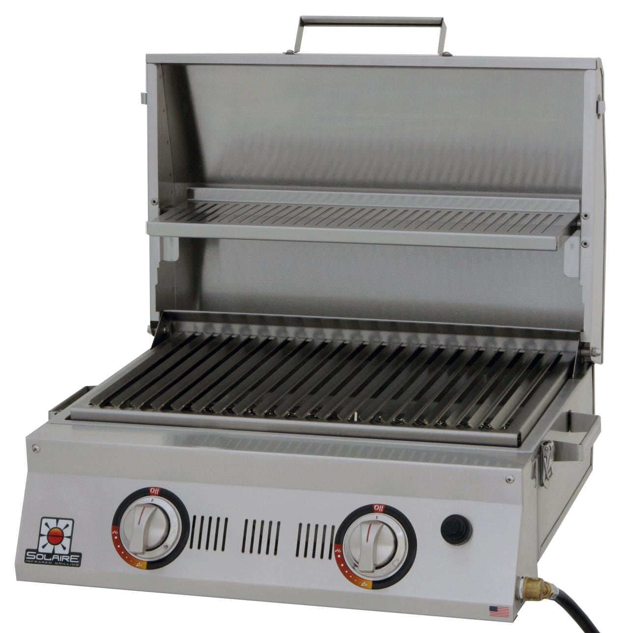 Wonderful Solaire AllAbout 2 Burner Portable Infrared Propane Gas Grill   SOL AA23A LP