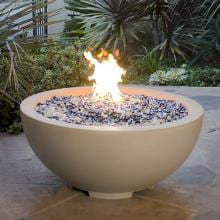 American Fyre Designs 32-Inch Natural Gas Fire Bowl - Smoke American Fyre Designs 32-Inch Natural Gas Fire Bowl - Smoke - Lifestyle