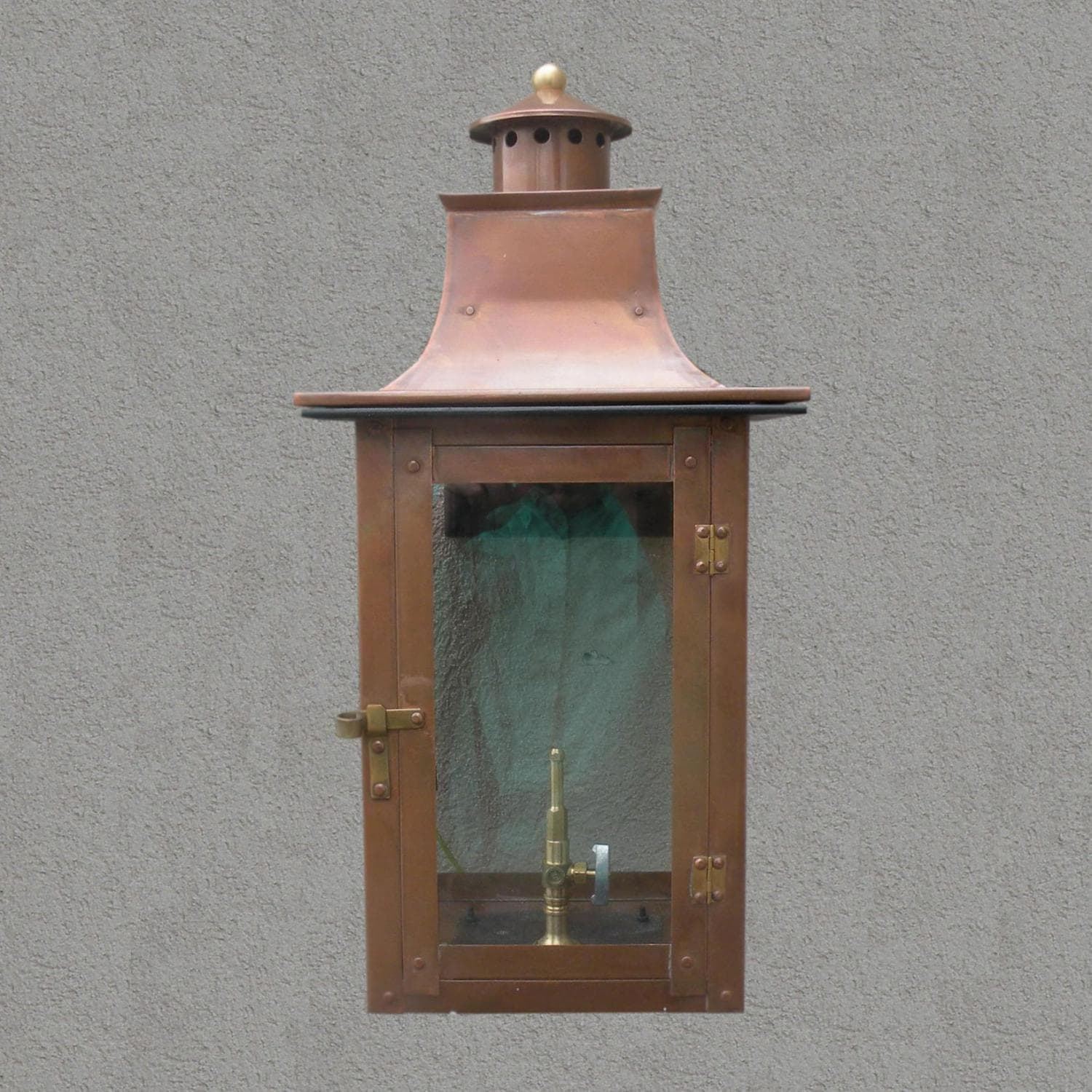 Natural Gas Wall Lamps : Regency GL21 Faye Rue Small Natural Gas Light With Open Flame Burner And Electronic Ignition On ...