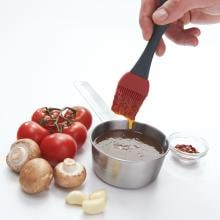 Silicone Basting Brush & Stainless Steel Sauce Pot Set Silicone Basting Brush & Stainless Steel Sauce Pot Set