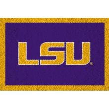 Team Sports America Hooked Door Mat - LSU