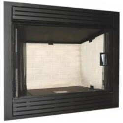 Monessen GCUF42C-R 42-Inch Louvered Circulating Vent-Free Firebox With Refractory Firebrick image