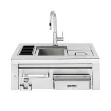 Lynx 30-Inch Built-In Cocktail Station With Sink & Ice Bin Cooler image
