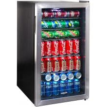 NewAir 19-Inch 3.4 Cu. Ft. Beverage Cooler - Stainless Steel - AB-1200 image