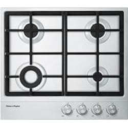 Fisher Paykel 24-Inch 4-Burner Propane Cooktop - Stainless Steel - CG244DLPX1 image