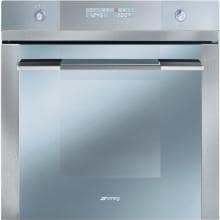 Smeg Linea 24-Inch Built-In Electric Single Wall Oven - Stainless Steel - SF112U
