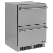 Lynx 24-Inch 5.0 Cu. Ft. Outdoor Rated Double Drawer Refrigerator - LM24DWR image