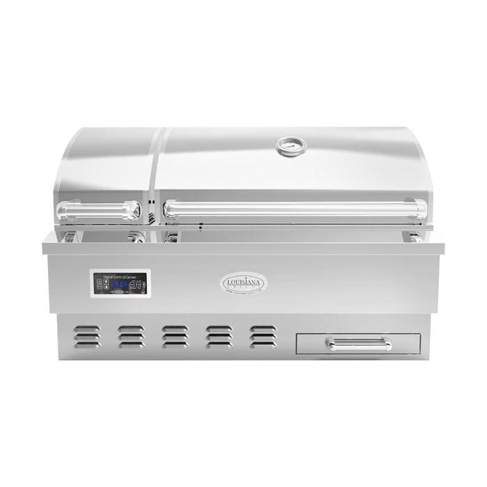 Louisiana Grills Estate Series 860 sq in 304 Stainless Steel Built-In Pellet Grill