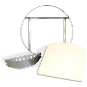 KettlePizza Pro Grate And Tombstone Kit For 22 1/2 Charcoal Kettle Grills - KPPG-22 image