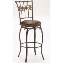 Hillsdale Lakeview Swivel Bar Stool With Slate Accent - 4264-830 image