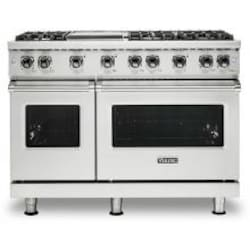 Viking Professional 5 Series 48-Inch 6-Burner Natural Gas Range With Griddle - Stainless Steel - VGR5486GSS image