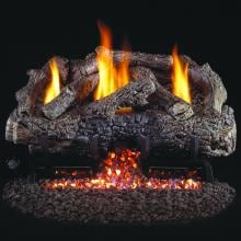 Charred Frontier Oak Peterson Real Fyre Vent Free Set