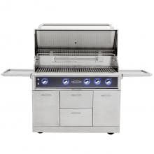 Capital Maestro 48-Inch Freestanding Natural Gas Grill - CGM48RFS-NG Capital Maestro 48-Inch Freestanding Gas Grill - Open View