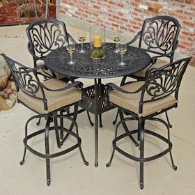 outdoor bar sets bar height patio furniture ultimate patio