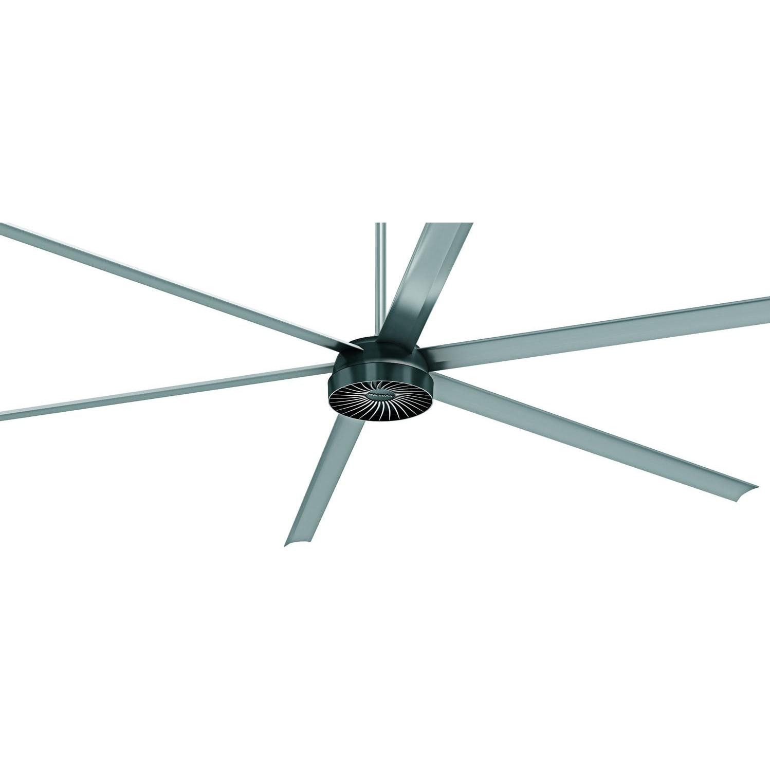 MacroAir AirVolution D 370 10 Ft HVLS Outdoor Ceiling Fan With