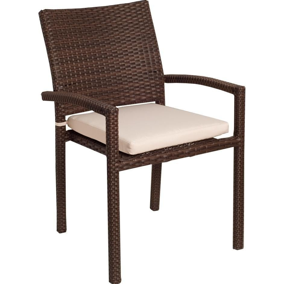 Atlantic Liberty Stacking Patio Dining Arm Chair