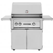 Lynx Sedona 30-Inch Freestanding Propane Gas Grill With One Infrared ProSear Burner And Rotisserie - L500PSFR-LP Sedona By Lynx 30 Inch Propane Gas Grill On Cart With ProSear Burner And Rotisserie L500PSR-LP