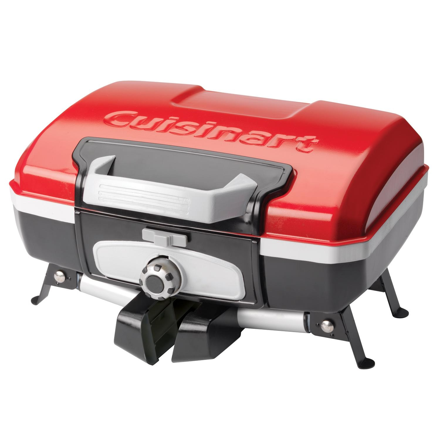 cuisinart petit gourmet tabletop gas grill red cgg 180t bbq guys. Black Bedroom Furniture Sets. Home Design Ideas