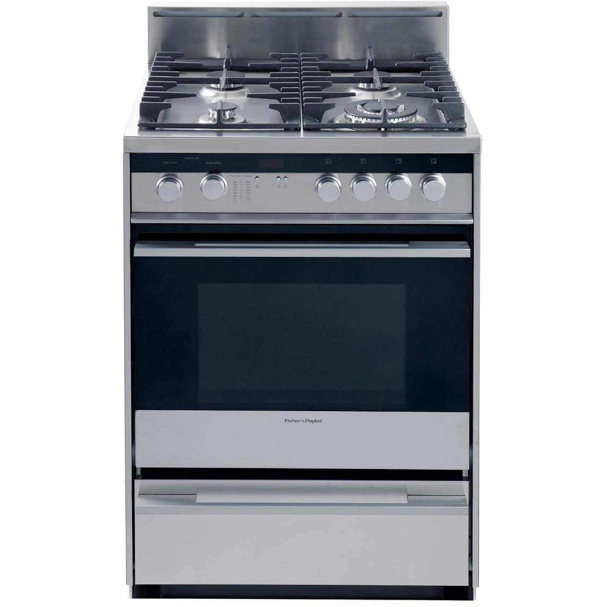 fisher paykel 24 inch 4 burner gas range or24sdmbgx2