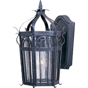 Maxim Cathedral One Light 14-Inch Outdoor Wall Light - Country Forge - 30041CDCF image