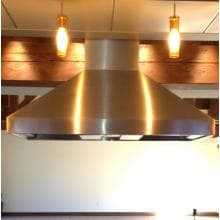 Vent-A-Hood 60-Inch 1100 CFM Euro-Style Island Vent Hood - Stainless Steel - EPITH18-460 SS Vent-A-Hood 60-Inch Eurostyle Island Range Hood - Stainless Steel - Lifestyle