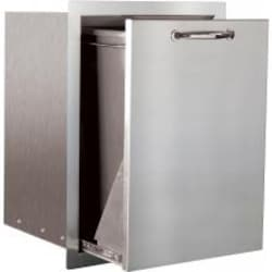 Summerset 24-Inch Stainless Steel Flush Mount Roll-Out Trash Drawer - SSTD-1 image