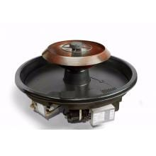 HPC H2Onfire 52-Inch Natural Gas Fire On Water Feature W/ Round Copper 360 Spill-Over Fire On Water Bowl - Electronic Ignition - 120VAC image