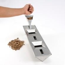13-Inch Stainless V-Smoker Box With Pellet Tube
