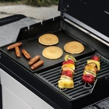 Weber 7531 Cast Iron Griddle For Genesis Silver A, Spirit 500 & Spirit E-210 Gas Grills