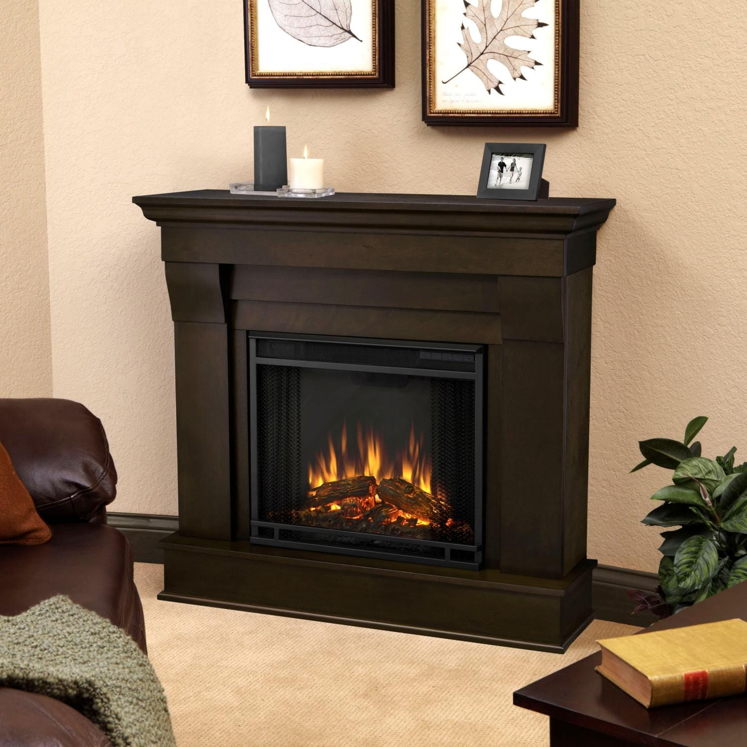The Chateau Fireplace features the clean lines and classic styling familiar to stone mantels