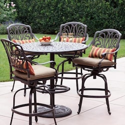 outdoor bar height patio sets patio bar tables chairs ultimate